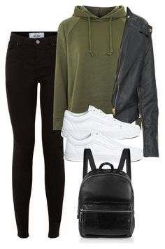 """""""Untitled #828"""" by strangebirdd ❤ liked on Polyvore featuring New Look, Topshop, Vans and Elizabeth and James"""
