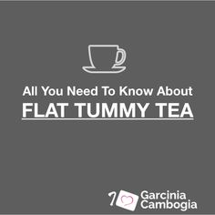 11 Best Flat Tummy Tea Reviews And Info Images Flat Tummy Tea