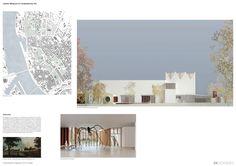 Caruso St John Architects + Arhitektu birojs Jaunromāns un Ābele — The Latvian Museum of Contemporary Art Design Competition