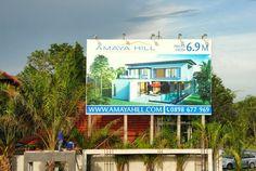 Sign Board for Amaya Hill