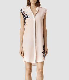 Womens Luna Haze Dress (Pink Brush) - product_image_alt_text_1