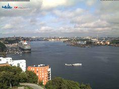 Queen Elizabeth nel porto di Stoccolma