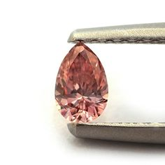 @>  016Cts Argyle Fancy Intense Pink Loose Diamond Natural Color Pear Shape GIA