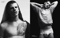 Vman Magazine, Daily Fashion, Mens Fashion, Daniel Jackson, Hedi Slimane, Calvin Klein Underwear, Man Crush, Bad Boys, American Apparel