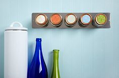 Display spices as a decorative fixture in your kitchen with our helpful tips and ideas.