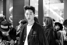 Nam Joo Hyuk at Steve J & Yoni P x Longboard Launching Party. Photo by Jigun