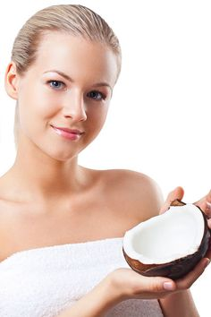 Coconut oil for the face - against wrinkles, pimples & acne and pigmentation disorders as well as . - A New & Better ME - Hautpflege Best Beauty Tips, Beauty Care, Beauty Skin, Beauty Hacks, Hair Beauty, Beauty Advice, Natural Beauty Remedies, Home Remedies For Acne, Natural Cures