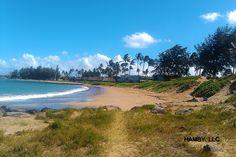 Warm day at Kahului Beach.....