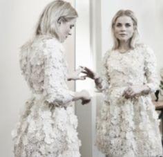 Ilse de Lange in dress Claes Iversen