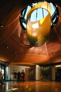 VanDusen Botanical Garden Visitor Centre in Vancouver, BC by Perkins+Will