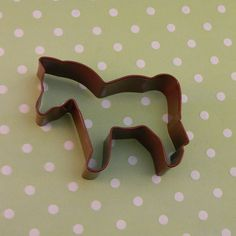 """4"""" Horse made with a Poly Resin Coat over the tinplate Cookie Cutter Design, adds a festive look and longevity to the cutter. Dishwasher Safe. Chip and Scratch Resistant."""
