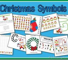 Free Preschool Printables: Christmas Symbols Set and Lesson Plan @ 2Teaching Mommies