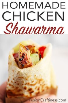 Make a big batch and eat all week or entertain with a Shawarma Bar. A traditional Middle Eastern wrap served with a garlicky Toum Sauce. It's the amazing Lebanese burrito! Wrap Recipes, Gourmet Recipes, Mexican Food Recipes, Pizza Recipes, Fall Recipes, Lebanese Recipes, Turkish Recipes, Algerian Recipes, Moroccan Recipes