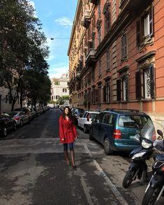"Giulia bernardes on Instagram: ""Rome streets... #rome #travel #instatravel #italy #europe #red"""