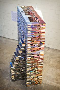 Tom Bendtsen Book Sculptures