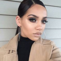 This smokey look Makeup Is Life, Love Makeup, Makeup Inspo, Makeup Inspiration, Makeup Tips, Makeup Looks, Hair Makeup, Makeup Products, Beauty Make Up