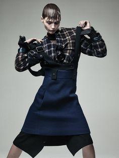Sasha Pivovarova by Craig McDean forInterview MagazineOctober 2013