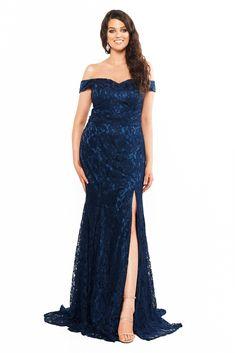 Curve Plus Size Dresses Curve Prom Dresses, Strapless Dress Formal, Formal Dresses, Plus Size Prom, Plus Size Dresses, Navy Lace, Perfect Fit, Evening Dresses, Gowns