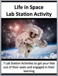 This fully editable Lab Station Activity on Life In Space is meant to get your students out of their seats and engaged in the content. Each station not only offers a unique opportunity to test your students knowledge (offer an opinion, answer questions based on a video or reading, draw, etc.), but also provides a fantastic learning opportunity where your kids are learning through assessment. Each station comes with a description card while some also contain more ....