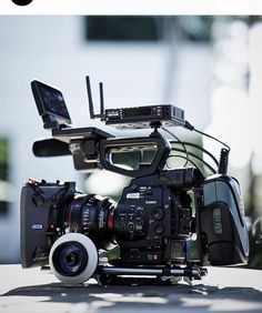 #sweet shot here of a Canon C100 rig by @teradek by film.rev