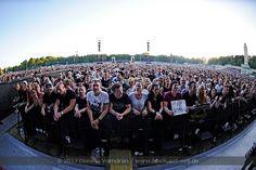 Depeche Mode bei einem Konzert am 27.05.2017 auf der Festwiese Leipzig