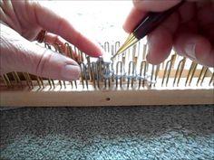 Transfer bind off regular gauge slim kiss loom