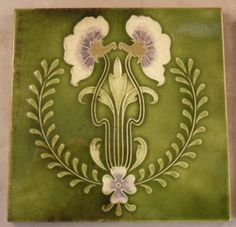 Art Nouveau style from Gibbon Hintons & Co. c1905/8