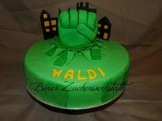 Hulk Torte