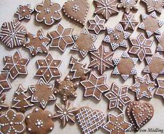 Make Easy Graham Cracker Gingerbread Houses – hausgemacht Christmas Treats, Christmas Baking, Christmas Cookies, Winter Christmas, Gingerbread Decorations, Gingerbread Cookies, Royal Icing Cookies, Cupcake Cookies, Graham Cracker Gingerbread House