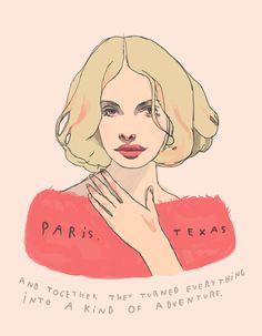 Paris, Texas by heartbeats club