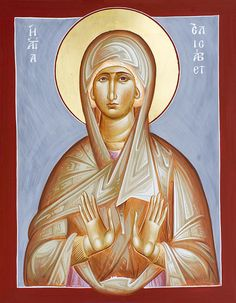 St. Elizabeth, mother of John the Baptist by Julia Bridget Hayes - September 5