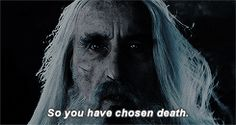 Favorite Saruman (Christopher Lee) quotes...