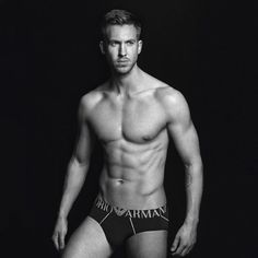 Calvin Harris Could Not Look Hotter Showing Off His Killer Abs in New Armani Underwear Ads