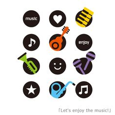 『Let's enjoy the music/YASUKO』シンプルなラインとPOPな色づかいで、国籍・老若男女問わずイラストを通して多くの方々にハッピーを届ける、ユニークでカワイイ世界を描くイラストレーター《YASUKO》。この作品は、「音楽」というテーマで制作して頂きました*(^o^)/* 「お気に入りの曲を聴いてワクワクしたり!大好きな楽器を演奏してドキドキしたり!音楽は人の心や体を動かし、楽しい気分でいっぱいにさせてくれる。 そんな音楽の楽しさを、イラストで表現。Let's enjoy the music! さあ、音楽を楽しもう!」とコメントを頂きましたが、 タイトルは、そのコンセプト通り。 彼女の作品、シンプルで可愛くって楽しく明るいテイストです!