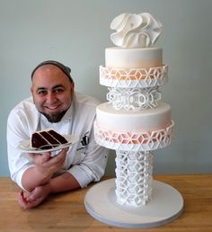 Chef Duff Goldman and 3D Systems used Culinary 3D Printing to design a muli-tiered cake that would evoke a totally unique take on a culinary mainstay.