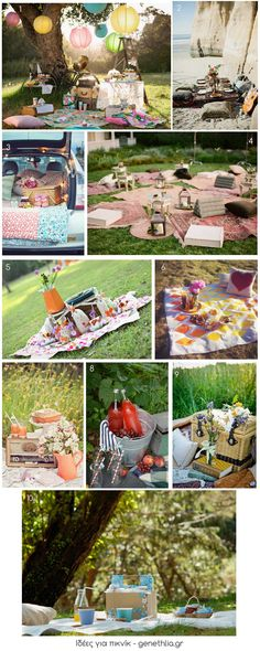 Styled Eats: DIY Picnic Baskets and Free Printable Picnic Time, Summer Picnic, Picnic Parties, Picnic Set, Picnic Ideas, Picnic Birthday, 1st Birthday Parties, Picnic In The Park, Festa Party