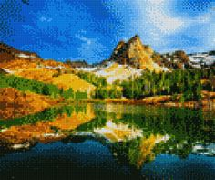 Cross Stitch Pictures, Cross Stitching, Painting, Art, Crossstitch, Braided Hairstyles, Eggs, Digital, Drawings