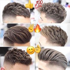"9,443 Likes, 143 Comments - Best Men's Hairstyles and Cuts (@menshairs) on Instagram: ""@menpeluqueros - Which one??, ✌, , , , …"""