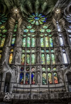Fotografía Sagrada Familia por Sam Smallwoods en 500px