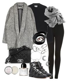 """""""Untitled #3368"""" by theeuropeancloset ❤ liked on Polyvore featuring Topshop, Acne Studios, Filippa K, Givenchy, Gucci, Byredo, MANGO, Chupi and Herbivore"""