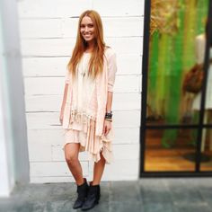 Monochromatic Girly Moment on Free People