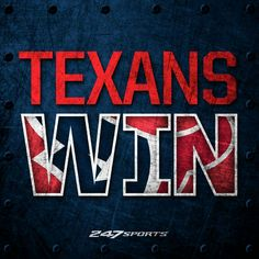 Yesterday Game was so good even my cowboy fan was all into it! Houstan Texans, Houston Texans Football, Football Fever, I Am Game, Sports Logos, Sports Teams, Jj Watt, 4 Life, Nfl