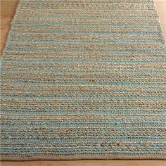 Chenille Texture Subtle Stripe Rug:  3 Colors