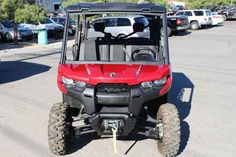 New 2017 Can-Am Defender MAX XT HD10 ATVs For Sale in Nevada. 2017 Can-Am Defender MAX XT HD10, 2017 Can-Am® Defender MAX XT HD10 READY TO TAKE ON THE JOB WITH ROOM FOR SIX <p>The Defender MAX XT comes equipped with many factory-installed accessories including 27 in. (68.6 cm) Maxxis Bighorn 2.0 tires mounted on 14 in. (35.6 cm) wheels and Dynamic Power Steering for better handling and steering.</p><p> Features may include: </p> HEAVY-DUTY ROTAX V-TWIN ENGINES <p>The Defender MAX XT package…