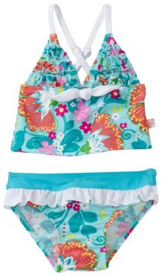 Floatimini Baby-Girls Infant Tankini Floral Swimwear, « Clothing Impulse
