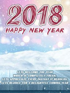 happy new year 2018 greetings cards images to approach with individual messages happynewyear happynewyearwishes