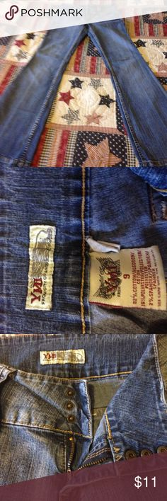 Size 9 YMI jeans Size 9 regular YMI jeans good condition! Smoker Jeans Flare & Wide Leg