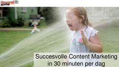 Succesvolle Content Marketing in 30 minuten per dag. Deze presentatie gaf René de Vries op het congres Content Marketing & Webredactie van Entopic. Met hits en tips, om met behulp van Content Curatie je Content Marketing een stuk eenvoudiger en effectiever te maken. www.magpipe.com