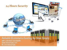 Sites Simply provides #Ecommercehosting with unlimited bandwidth, blazing fast servers, hosted shopping cart, and large content delivery network to help you build your #ecommercestore successfully.