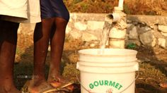 Four years after a huge earthquake, Haiti is still in desperate need of clean water.